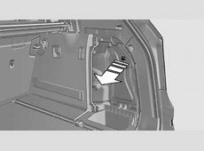 BMW fuel door manual override release, emergency open