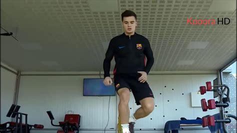 Philippe Coutinho training FC Barcelona 2018 - YouTube