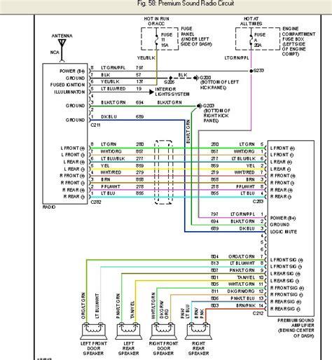 wiring diagram    ford   radio