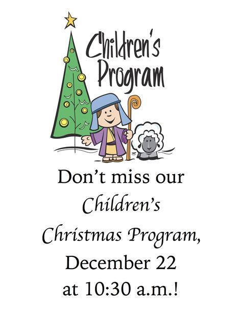 programs for preschoolers at churchdownload free 575 | children christmas program1