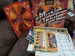 An innovative music trivia game based on video clips! Retro Board Game - Solid Gold Music Trivia Game Ideal Golden Oldies 26262244266 | eBay