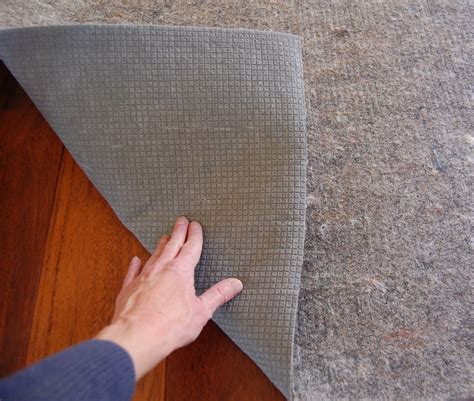 Rug Pads For Hardwood Floors by Safest Types Of Rug Pad For Hardwood Floors Homesfeed