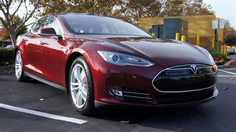 Electric Car by Tested Test Drives The Tesla Model S Electric Car