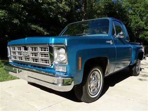"Purchase Used 1978 Chevrolet C10 Stepside Pickup ""big 10"