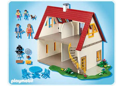 Modernes Haus Playmobil by Suburban House 4279 A Playmobil