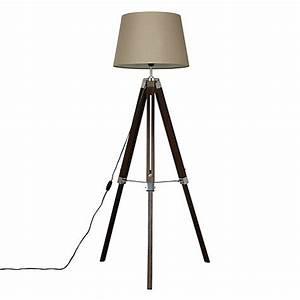 Buy john lewis jacques tripod floor lamp john lewis for John lewis floor lamp reading