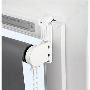 Sécurité Fenêtre Bébé Sans Percer : kit de 2 supports avec joint et extension blanc pour tout ~ Premium-room.com Idées de Décoration