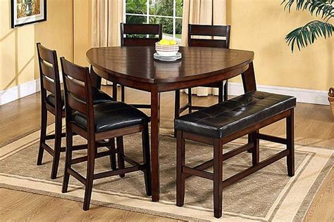 triangle dining table  set  convenience  unusual
