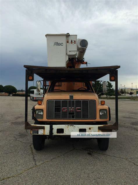 gmc  forestry chipper dump truck