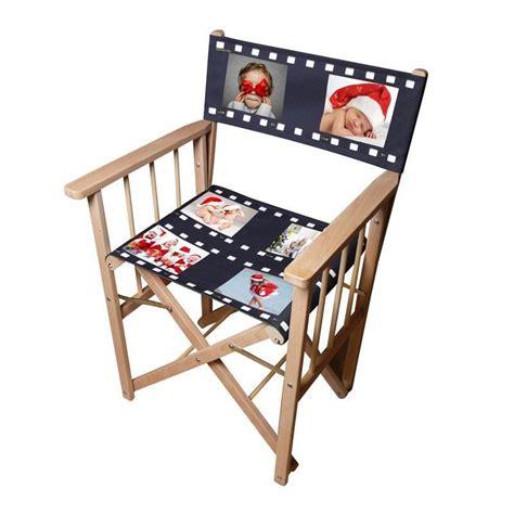 chaise personnalisée chaise de realisateur personnalisée