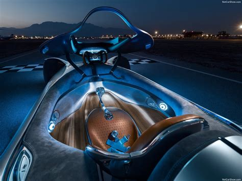 Detailed highlights then include the air vents integrated into the. Mercedes-Benz Vision EQ Silver Arrow Concept (2018) - picture 28 of 43