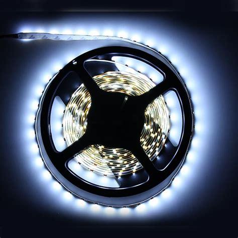 5m white 3528 smd led light non waterproof 12v dc