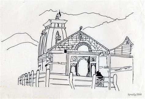 kedarnath temple  conjurer  deviantart