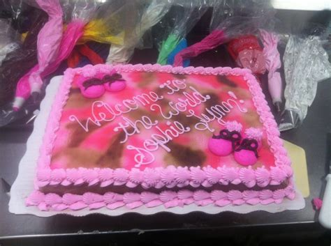 17 Best images about Pink camo baby shower cake on Pinterest   Baby showers, Baby girls and Boys