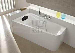 Baignoire Avec Tablier : baignoires acrylique asymetriques avec tablier bain ~ Premium-room.com Idées de Décoration