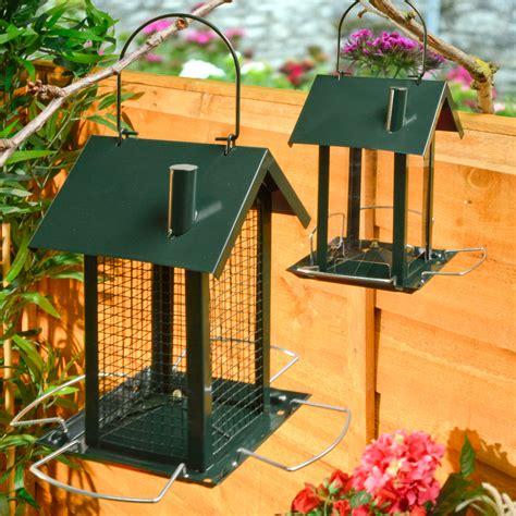 2 bird feeder feeding station hanging house design garden