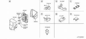 Infiniti Fx35 Contunit Ipdm  Engroom  Engine  Fitting