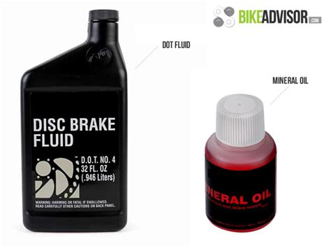 The Differences Between Mineral Oil And Dot Brake Fluid