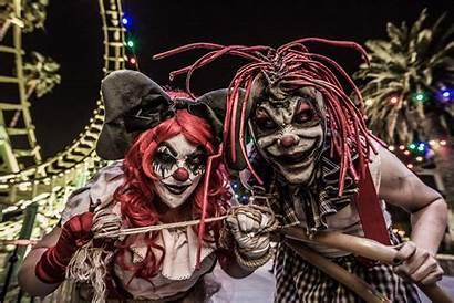Scary Farm Knott Knotts Halloween Clown Carnevil