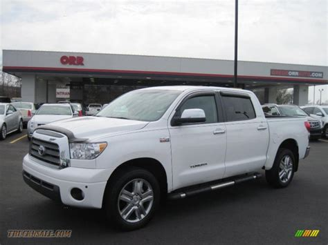 2008 Toyota Tundra Crewmax by 2008 Toyota Tundra Limited Crewmax 4x4 In White