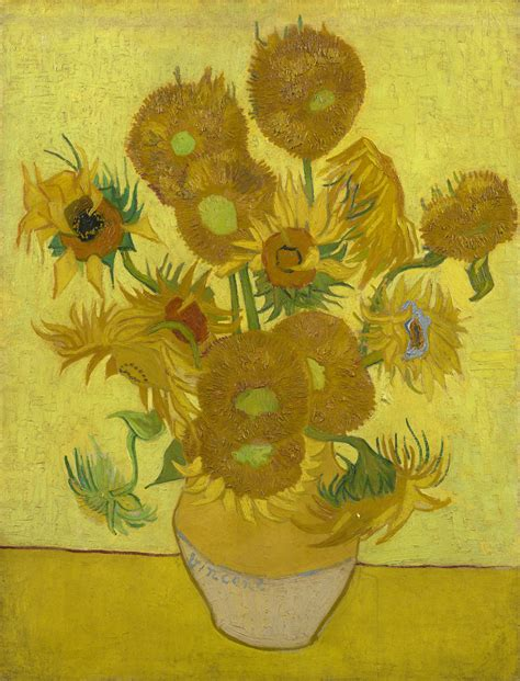 national gallery gogh van gogh s sunflowers reunited for the first time in 65 years huffpost
