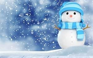 Cute Snowman Wallpaper 4K HD Download Of Christmas Snowman