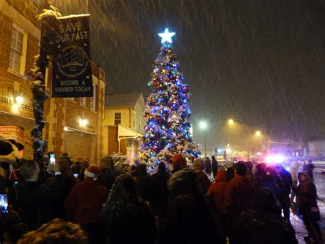 2017 holiday tree lighting heritage society of essex and