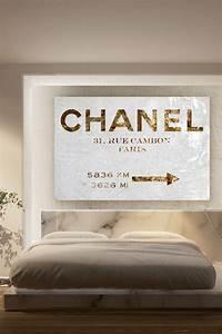Tableau Chambre Adulte : charmant tableau pour chambre adulte 11 couture road sign canvas art to add some glam in the ~ Preciouscoupons.com Idées de Décoration