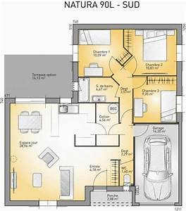 plan maison neuve a construire maisons france confort With wonderful modele de plan maison 0 maison plain pied garage double