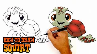 Squirt Finding Nemo Dory Drawing Draw Clipartmag