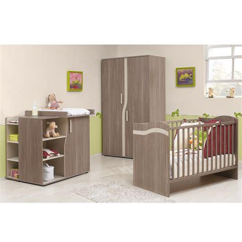 aubert chambre bebe idée peinture mur pour chambre bb meuble gris marron