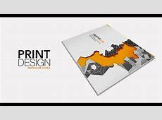 Print Design Brochure Cover part2 Adobe Photoshop