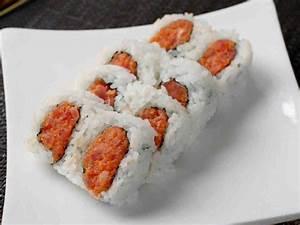 Spicy Tuna Sushi Roll Burger Recipe — Dishmaps