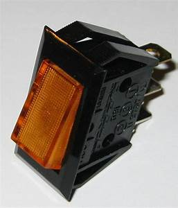 Dreefs Illuminated Rocker Switch - Spst