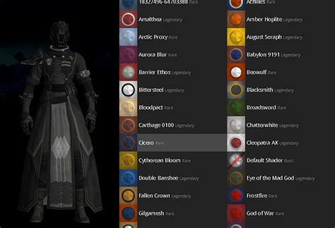 preview those outfit shaders in destiny before you buy them