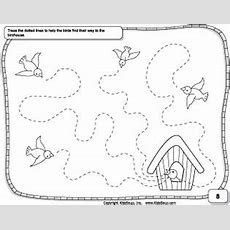 Prewriting Skills Preschool Worksheet Kidssoup