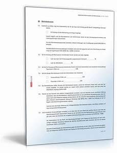 Mietvertrag Was Beachten : mietvertrag werkswohnung rechtssicheres muster zum download ~ Lizthompson.info Haus und Dekorationen