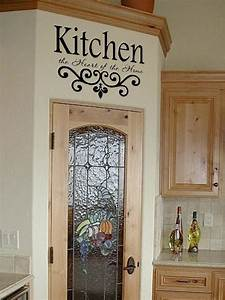 Kitchen wall quotes on sayings