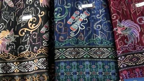 aneka motif model  warna batik papua youtube