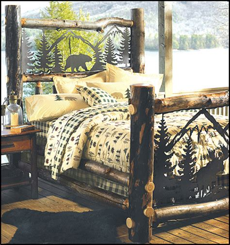 log cabin style bedroom furniture decorating theme bedrooms maries manor log cabin
