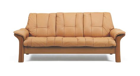 circle furniture stressess lowback sofa