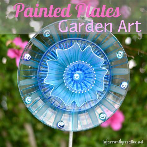 glass flower garden decorations dollar store crafts