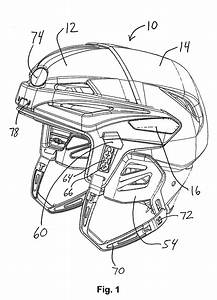 Patent Us8296868 - Adjustable Hockey Helmet