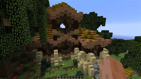 rustic asian house  minecraft