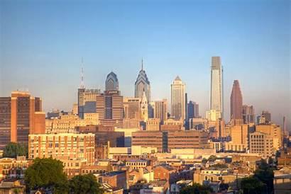 Philadelphia Skyline Cities Pennsylvania Retire Pa Places