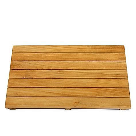 Buy ARB Teak & Specialties 20 Inch x 14 Inch Teak Wood Shower Mat from Bed Bath & Beyond