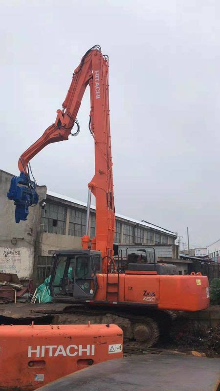 high precision vibratory pile driver  excavator quick converting operation