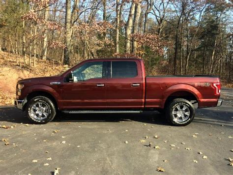 bronze fire metallic ford   xlt crew cab