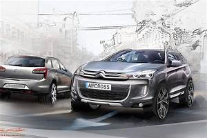 Citroen C Aircross : citroen c4 aircross new photos ahead of geneva debut autoevolution ~ Gottalentnigeria.com Avis de Voitures
