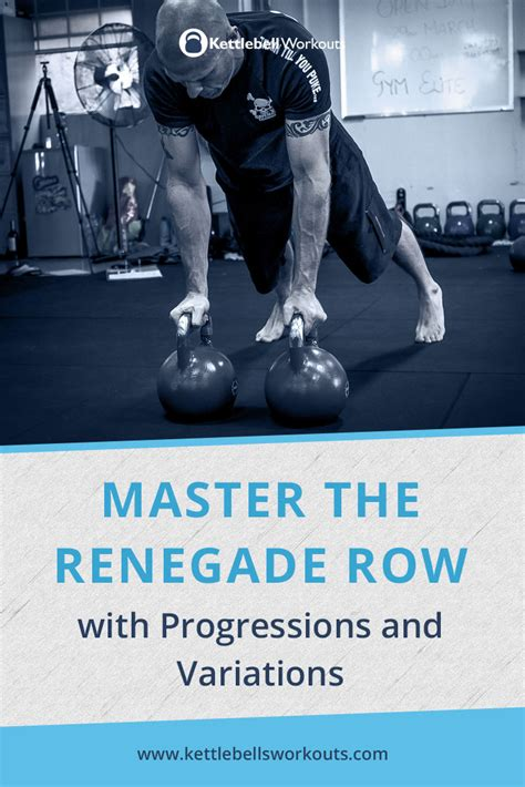 row renegade kettlebell variations progressions exercise master muscles core advanced deep same while into